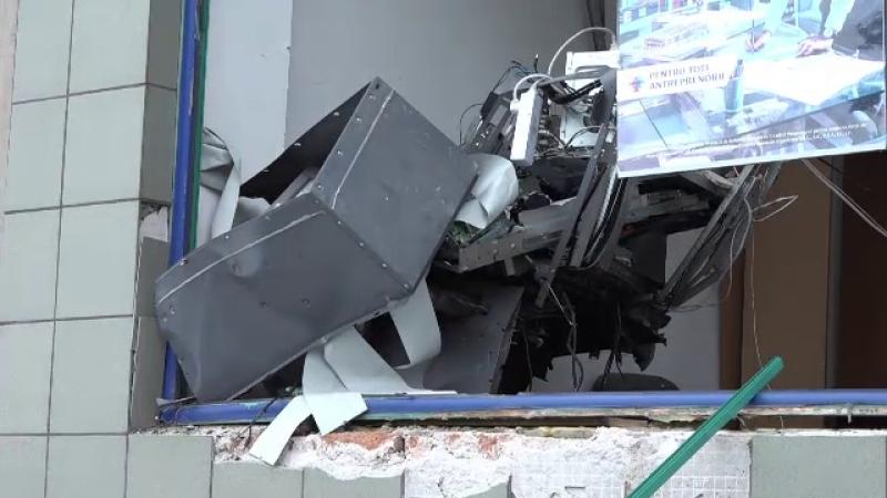 explozie bancomat Arad
