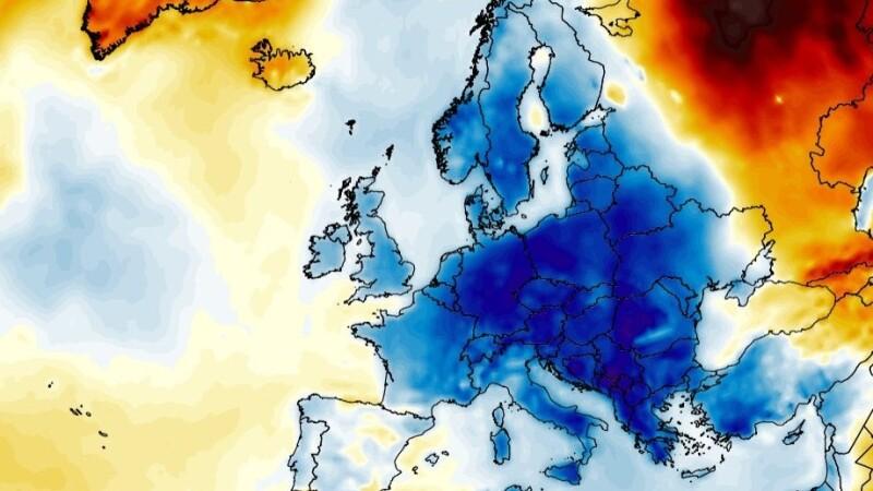 România, lovită de un val de aer polar în următoarele zile