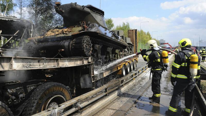 accident produs cu tancuri
