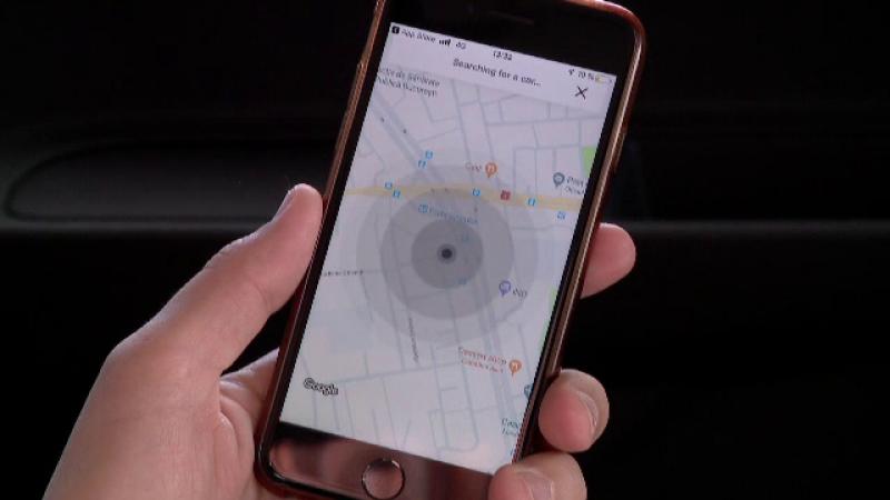 aplicație car sharing