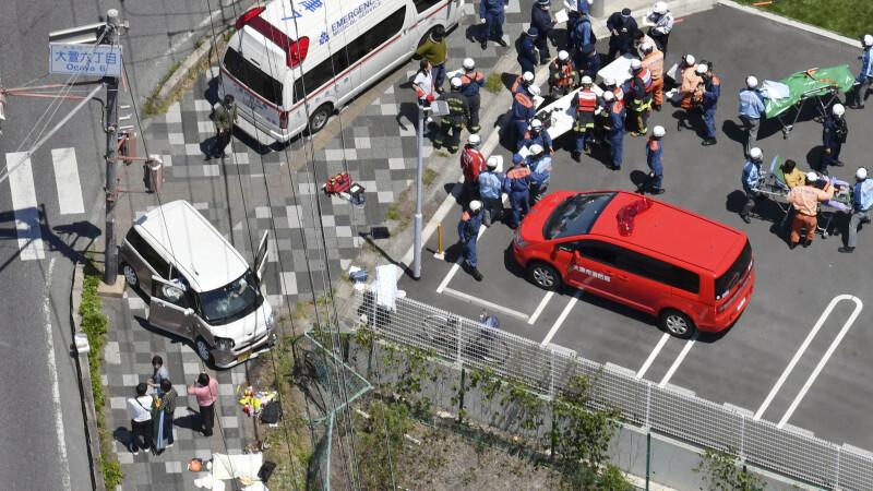 Un șofer a intrat cu mașina într-un grup de copii, în Japonia. Bilanțul victimelor