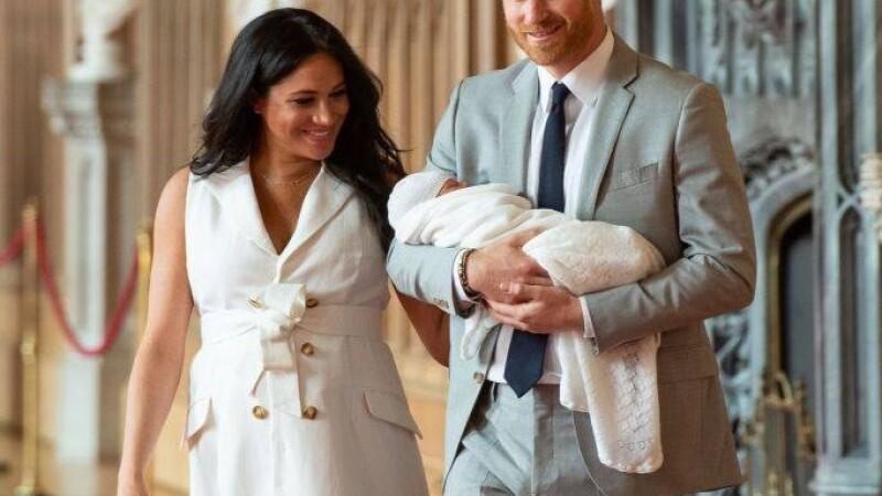 Bebelusul lui Harry si Meghan