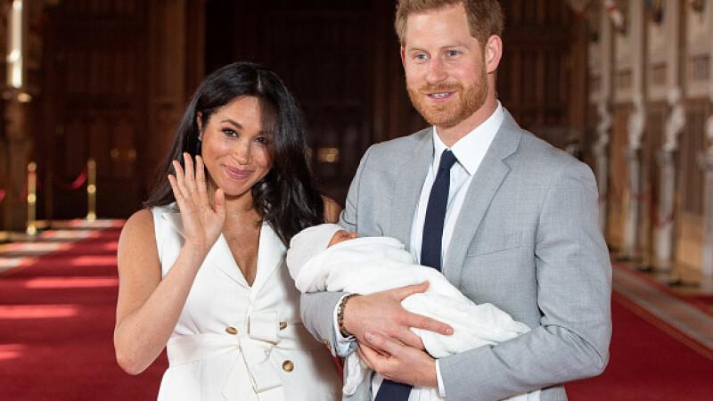 Prințul Harry și Meghan Markle au anunțat numele primului lor copil