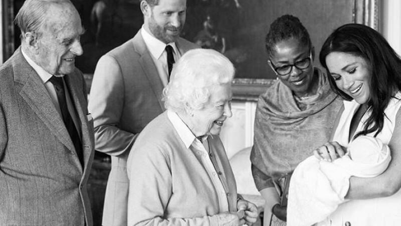 Momentul în care Archie Harrison, fiul lui Harry și Meghan, s-a întâlnit cu Regina Elisabeta