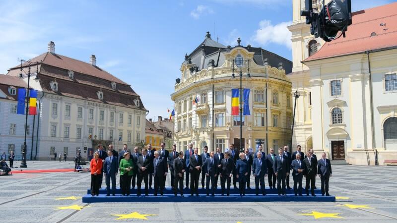 Filmul summitului de la Sibiu - 4