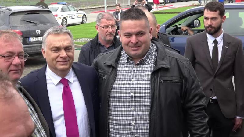 Viktor Orban în România