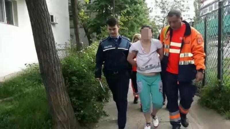 O mamă din Galați a încercat să-și omoare fiul de 8 luni. Femeia suferă de depresie