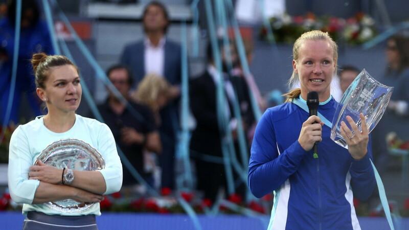 Simona, după ce a pierdut finala de la Madrid: Domnule Țiriac, sper că nu sunteți supărat