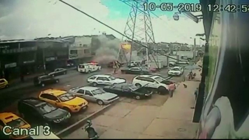 Explozie devastatoare, filmată de camerele de supraveghere. Bilanțul tragediei