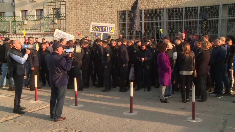 Protest al gardienilor din închisori. La Rahova, deținuții nu au fost scoși din celule