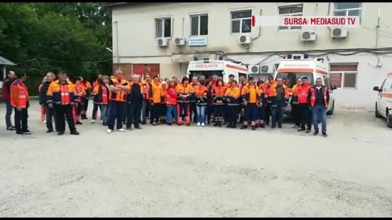 Protest la Ambulanța Teleorman. Angajații nu vor ca managerul să fie înlocuit