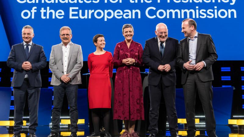Dezbatere pentru șefia Comisiei Europene: atacuri, glume cu Game of Thrones și viitorul UE