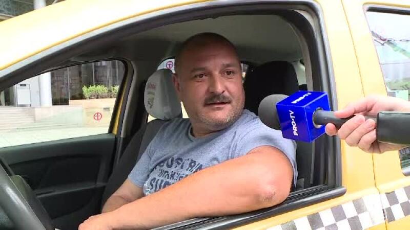 """Taximetrist, despre șoferii Uber: """"Vorbesc urât clienților, îi dau jos din mașină"""""""