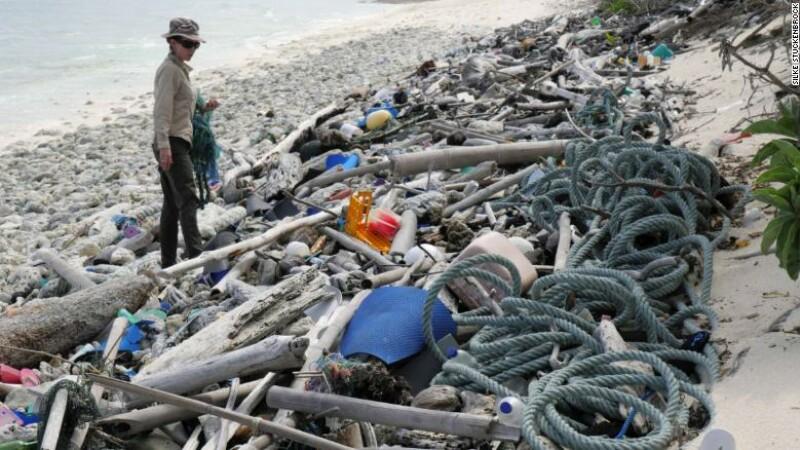 Poluare pe Insula Cocos