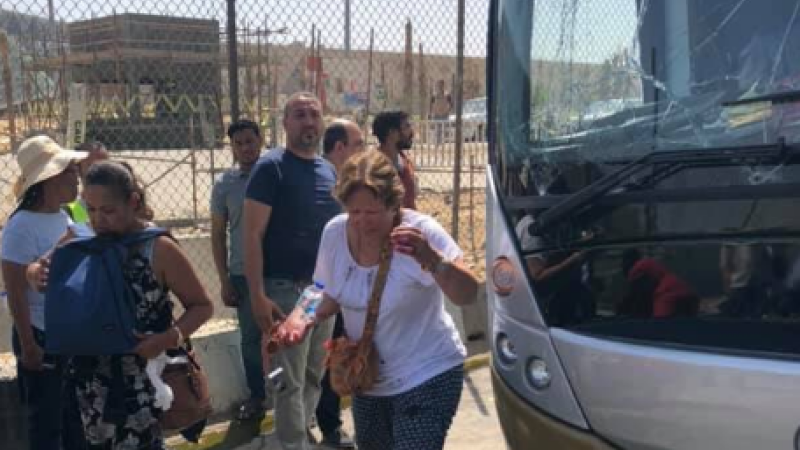 Zeci de turiști au fost răniți într-o explozie, în apropierea piramidelor egiptene. FOTO