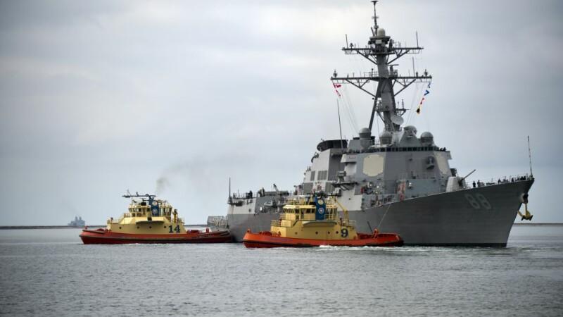 distrugatorul USS Preble