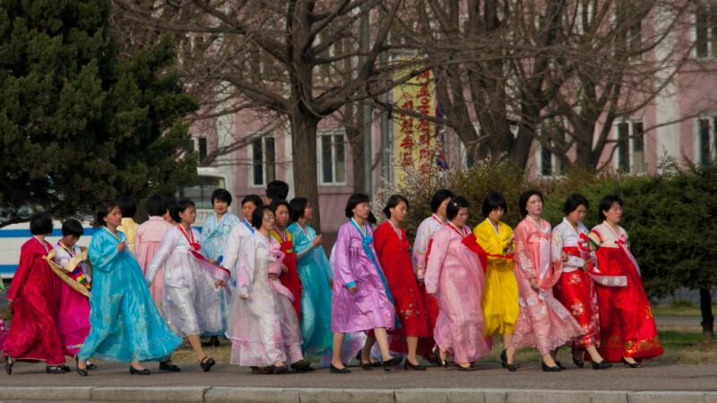 femei, Coreea de Nord