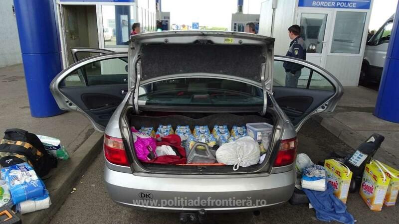 sirian ascuns in portbagaj