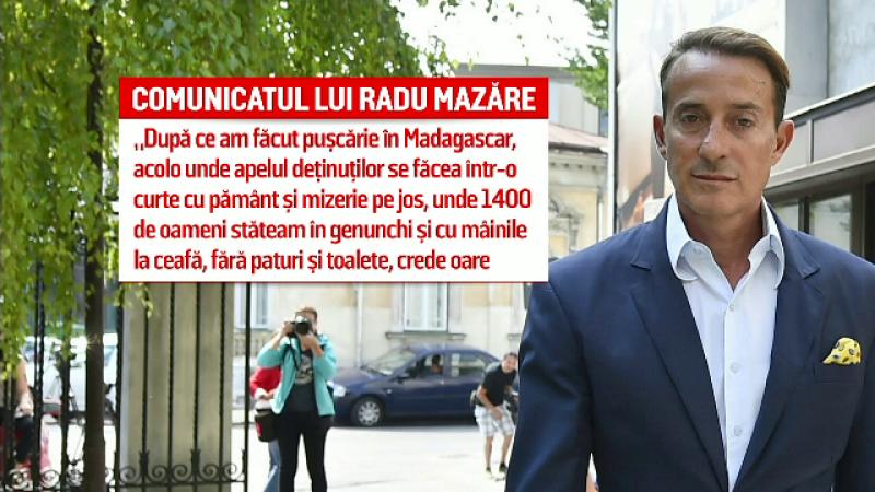 Radu Mazare, carton