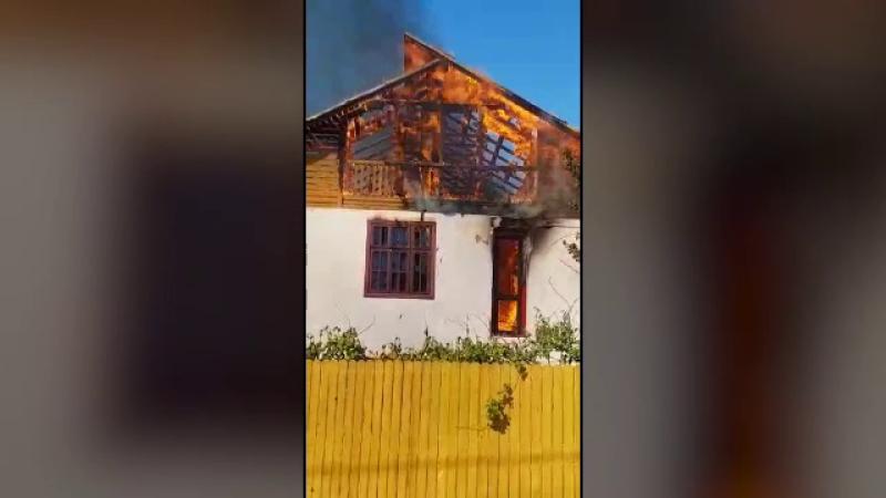 incendiu, eforie, casa, vacanta