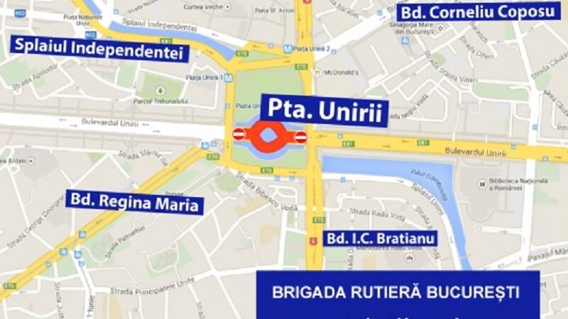 Restricții De Trafic In București Sambătă și Duminică Harta