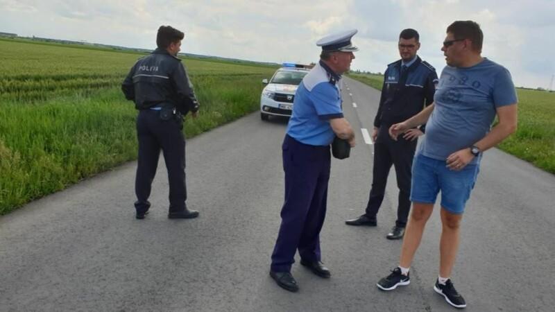 Biciclist decapitat în Vladimirescu, Arad - 1