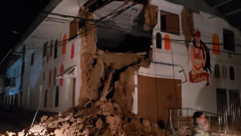Un cutremur cu magnitudinea 8 s-a produs în Peru