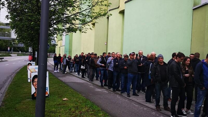 Cozi la sectiile de vot din Germania