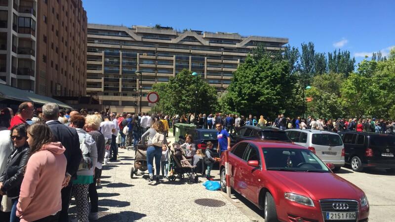 coada la vot in Zaragoza