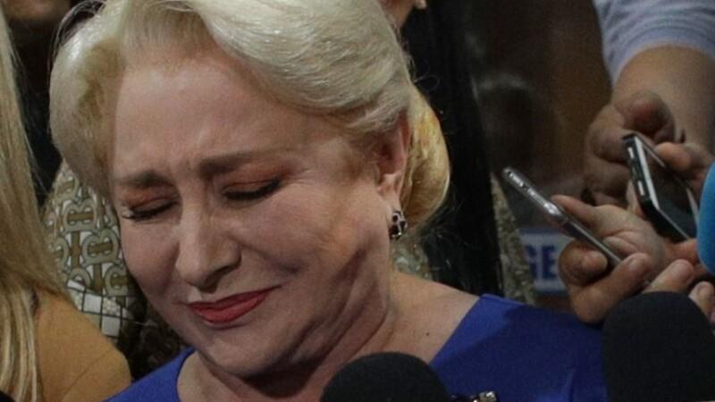 Viorica Dancila dupa aflarea rezultatului alegerilor europarlamentare