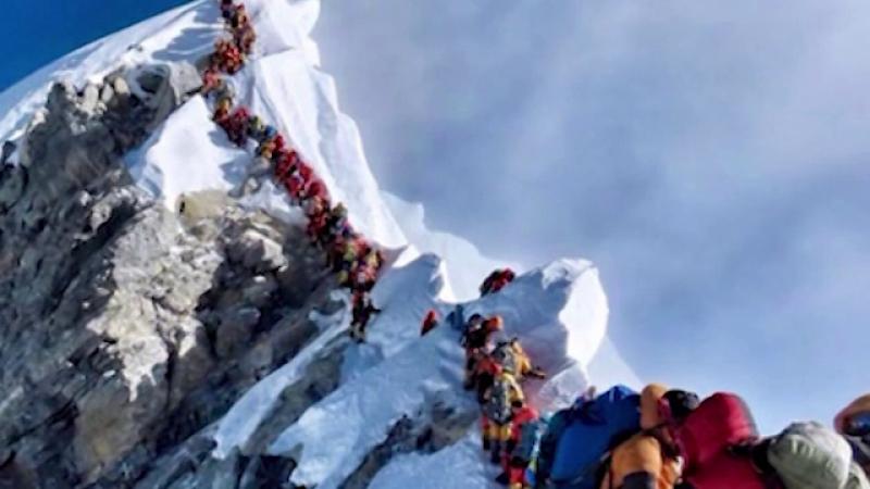 alpiniști Everest