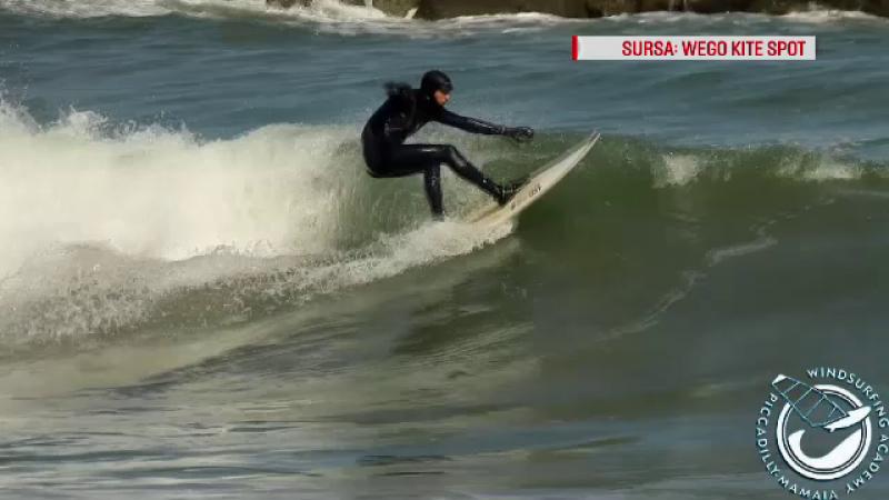 Plajele din Constanţa unde turiştii se antrenează pentru sporturile extreme