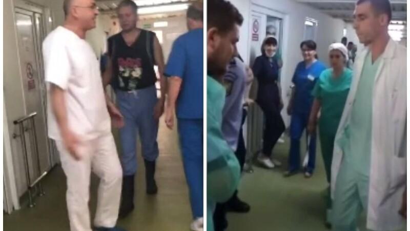 Bătaie între medici la spitalul din Craiova