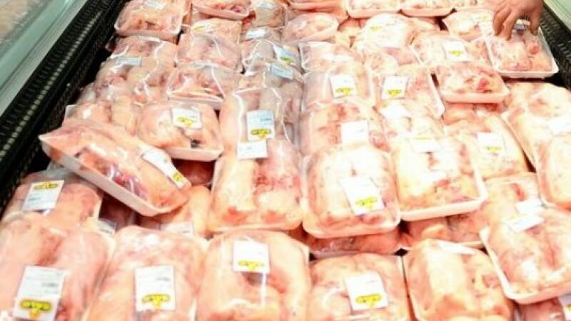 Zeci de tone de carne de pasăre contaminată cu Salmonella au ajuns în România. De unde venea