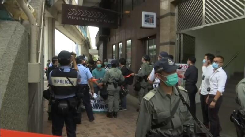 Proteste Hong Kong