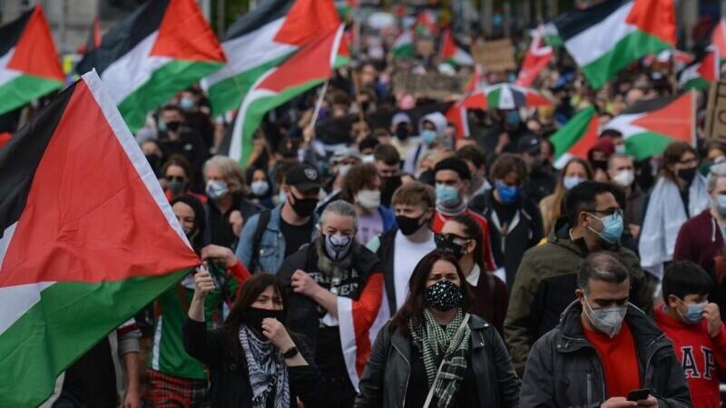 Manifestații pro-palestiniene în toată lumea. Zeci de mii de oameni au cerut \