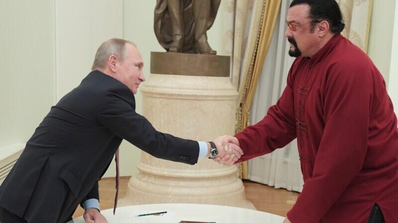Steven Seagal, Vladimir Putin