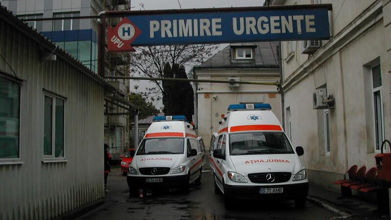 Revelion la Urgente pentru o femeie din Lupeni. Ea a fost batuta de concubin in ultima zi a anului