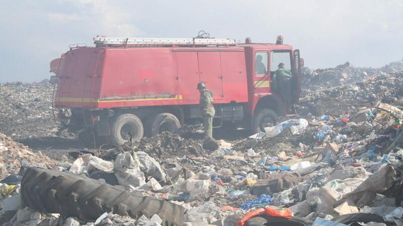 Gunoaiele au pus pe jar pompierii din TImisoara