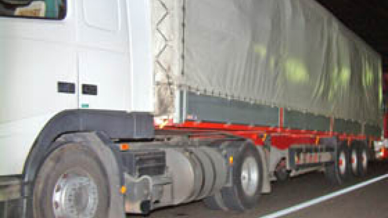 Accident cu scandal in fata unei benzinarii din Dambovita!