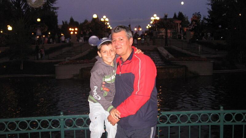 Mihai Dedu si fiul sau