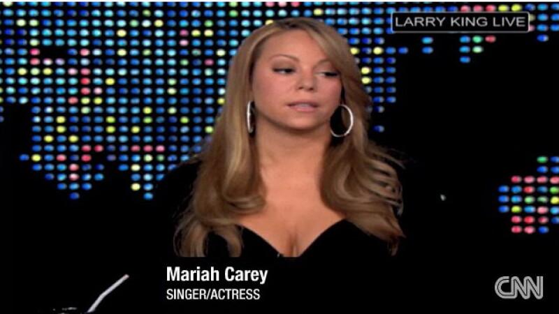 Mariah la Larry King