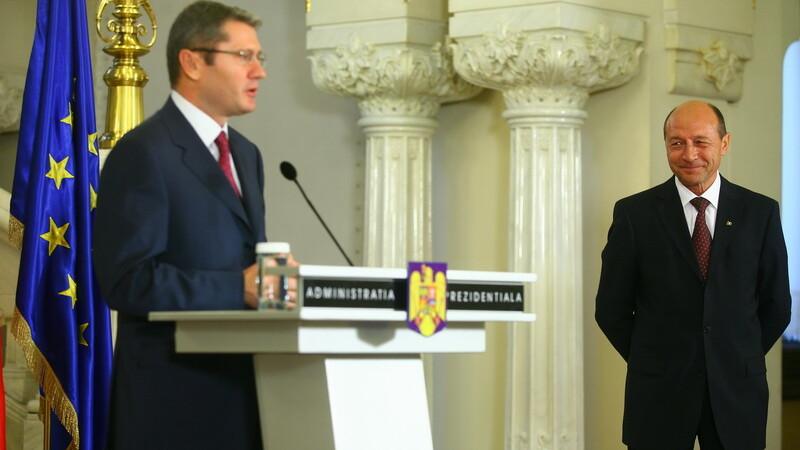 Liviu Negoita si Traian Basescu