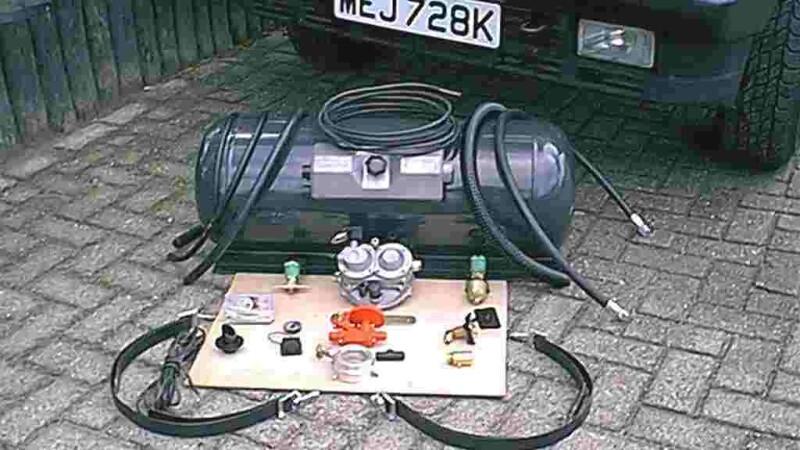 GPL, instalatie gaz