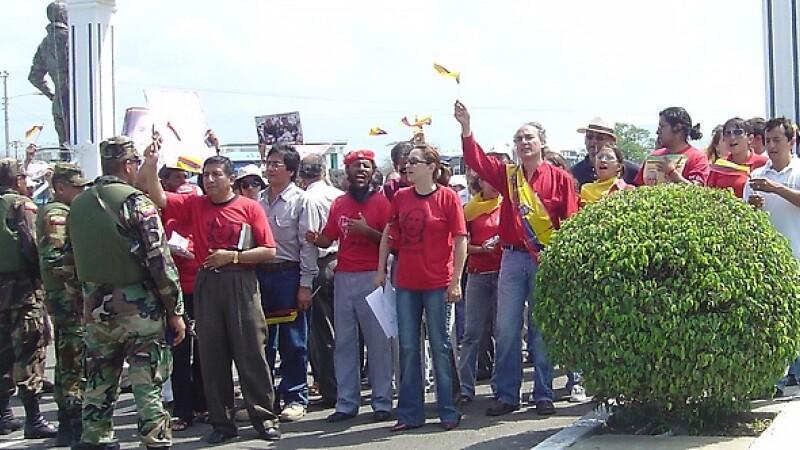 Proteste Columbia