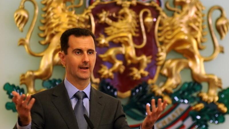 Presedintele Siriei, Bashar al-Assad
