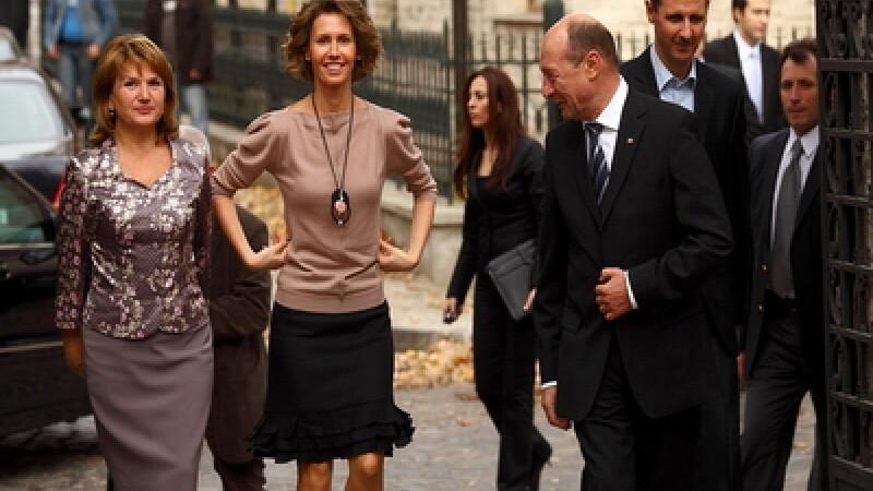 Traian Basescu, Bashar Al-Assad si sotiile acestora