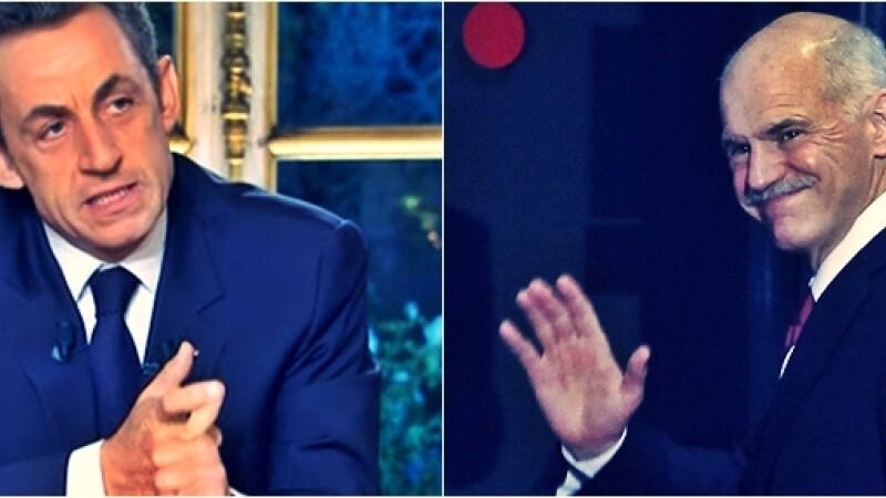 Sarkozy da ultimatum Greciei: Vreti sau NU sa ramaneti in Zona Euro?
