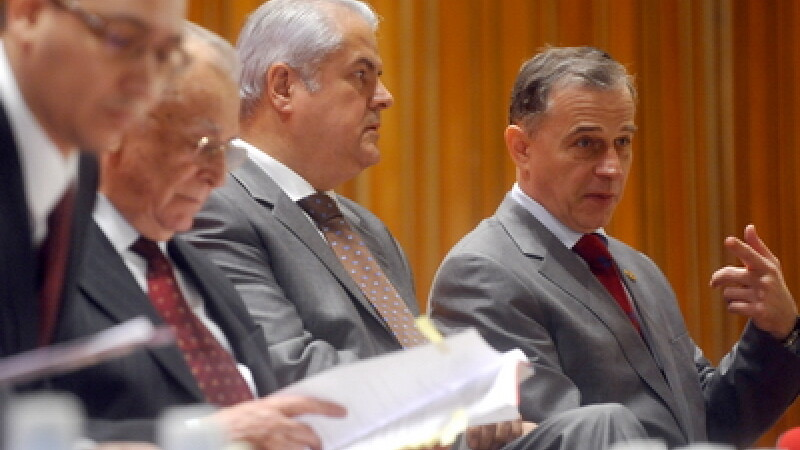 Victor Ponta, Ion Iliescu, Adrian Nastase si Mircea Geoana