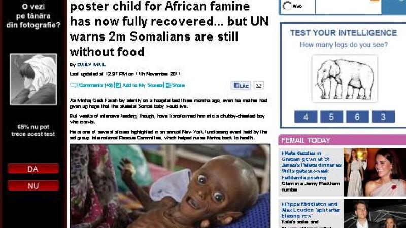 foamete, copil, Somalia